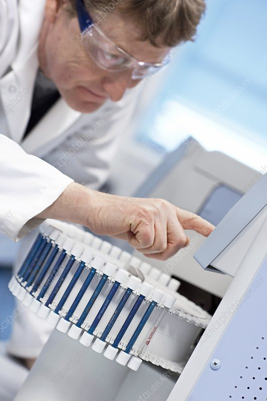 Gas chromatography analysis