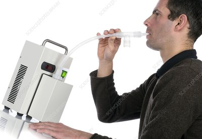 Lung capacity test