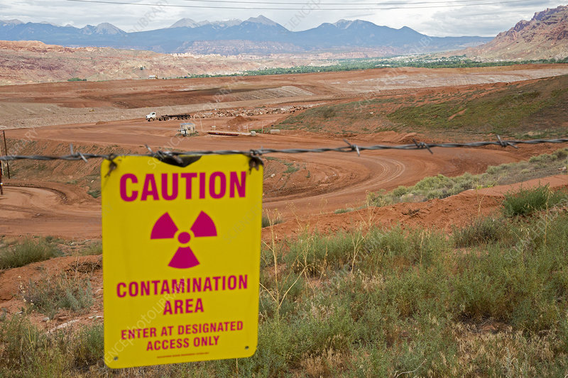 Uranium mill clean up project, USA