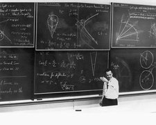 Richard Feynman, theoretical physicist