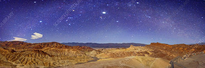 Night sky over Death Valley