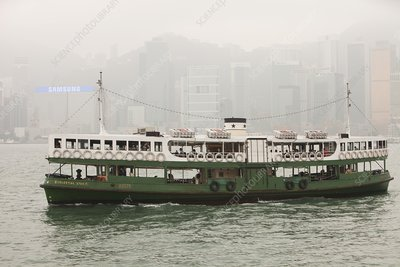 The Kowloon-Hong Kong ferry