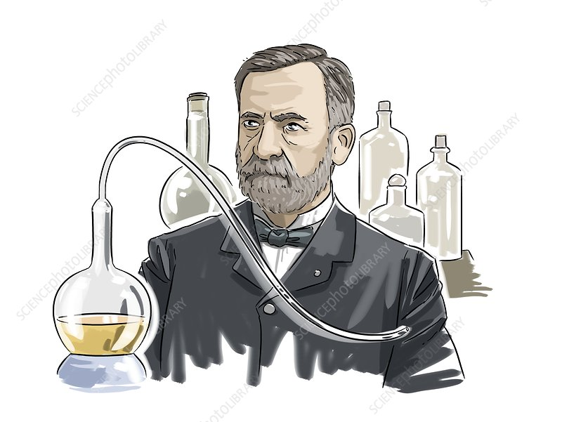 Louis Pasteur French Microbiologist Stock Image C0261479