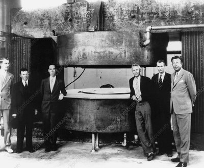 60-inch cyclotron and nuclear physicists