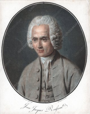 Jean-Jacques Rousseau, French philosopher