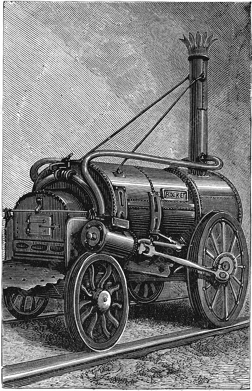 George Stephenson's 'Rocket'