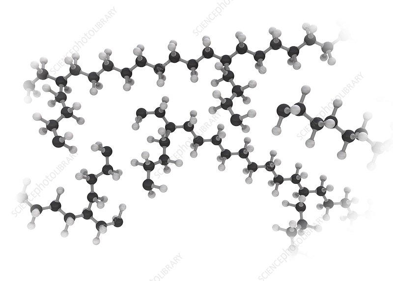 Branched molecules, illustration