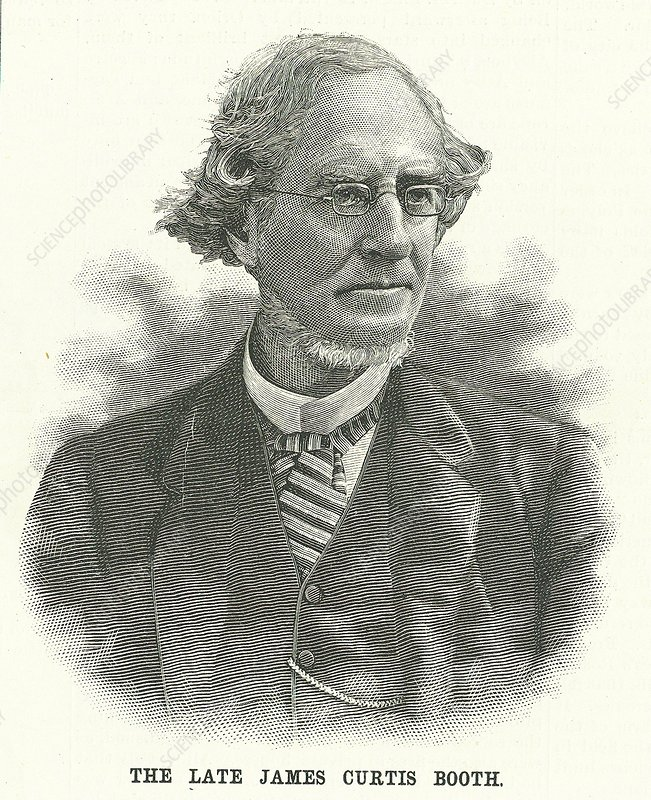 James Curtis Booth, American chemist