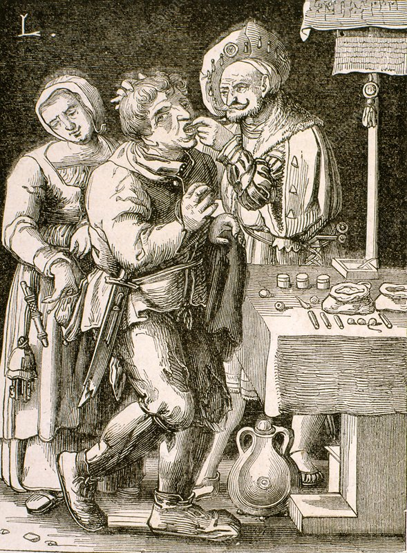Dentistry in 17th century France