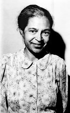Rosa Parks, US civil rights activist