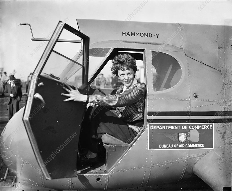 Amelia Earhart, US aviation pioneer