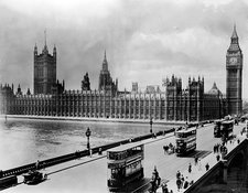 Westminster Bridge and Parliament