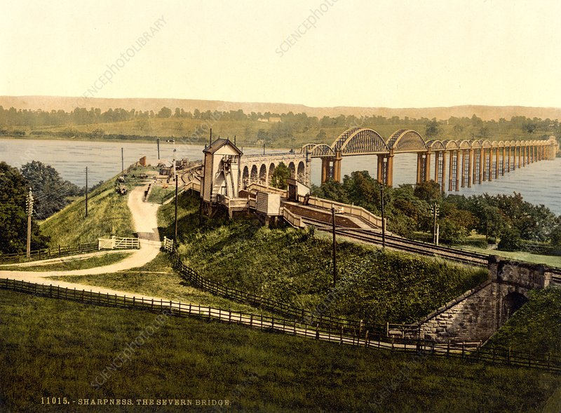 Severn Railway Bridge, 1890s