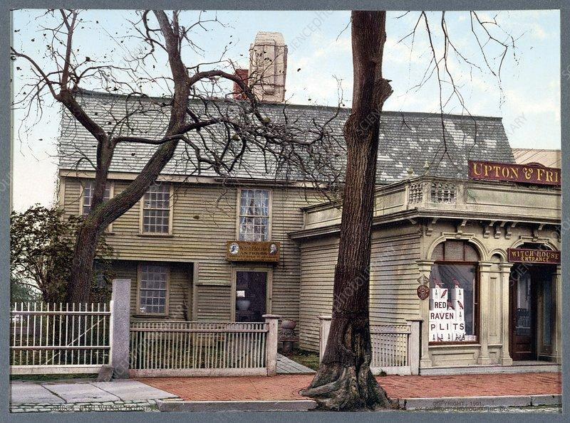 Witch House, Salem, 1900s