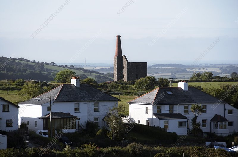 Engine house chimney at Minions