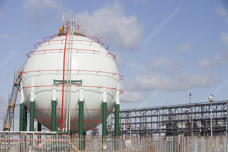 Gas storage vessel