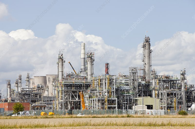 The Ineos oil refinery in Grangemouth
