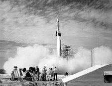 First Cape Canaveral rocket launch