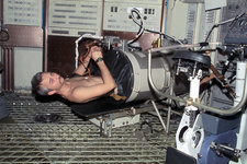 Owen Garriott, US astronaut, on Skylab