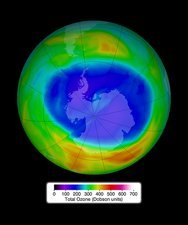 Antarctic ozone concentrations, Sep. 2014