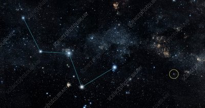 HD 219134 and Cassiopeia, Spitzer image