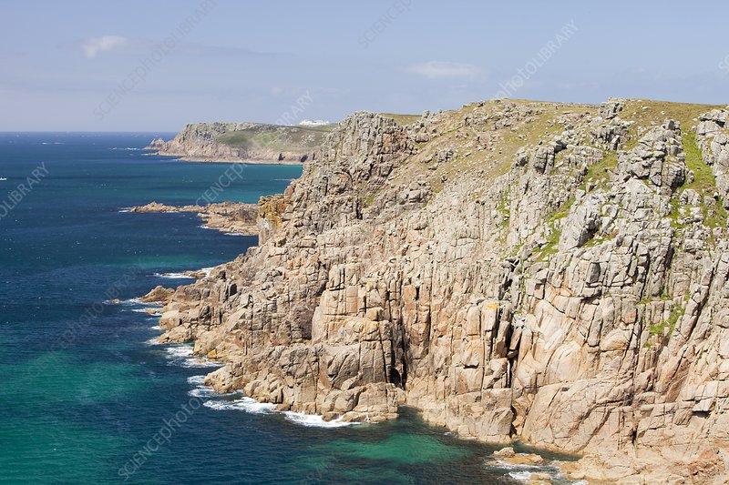 Cornish coastal scenery near Gwennap Head