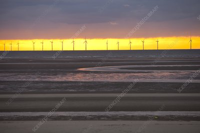 The Rhyl Flats offshore wind farm