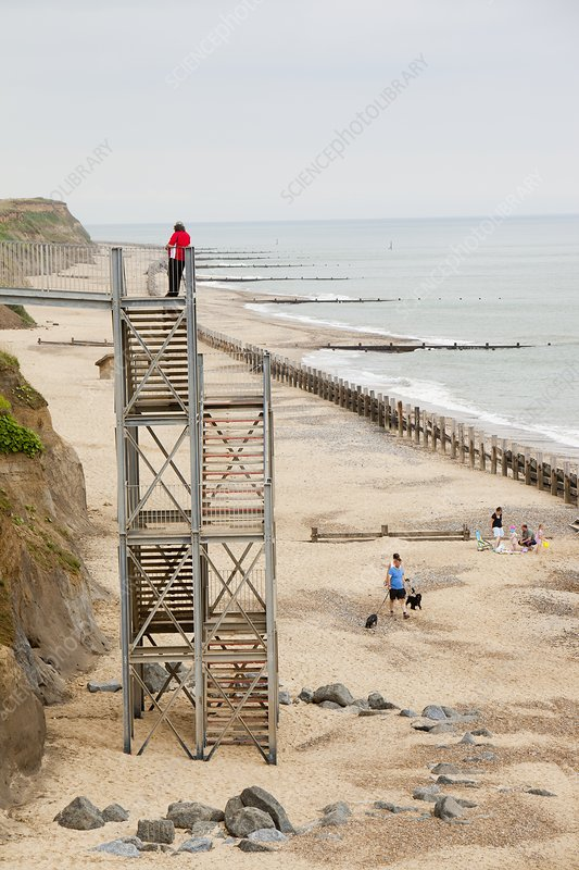 Happisburgh, Norfolk , UK
