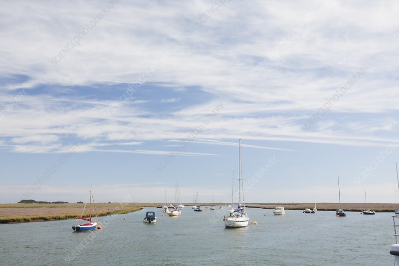 Wells-Next-the-Sea in North Norfolk