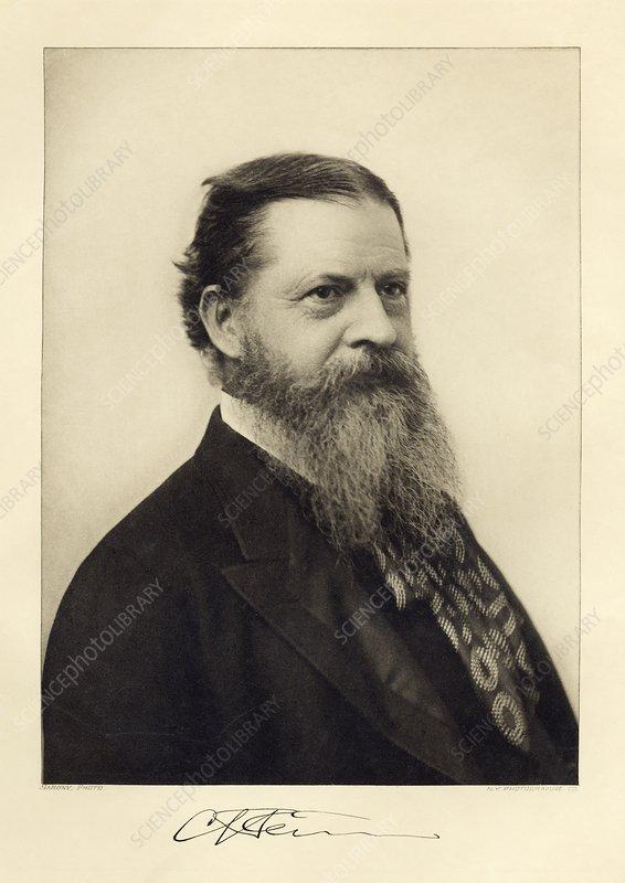 Charles Sanders Peirce, US philosopher
