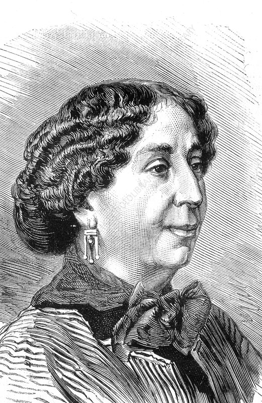 George Sand, French novelist