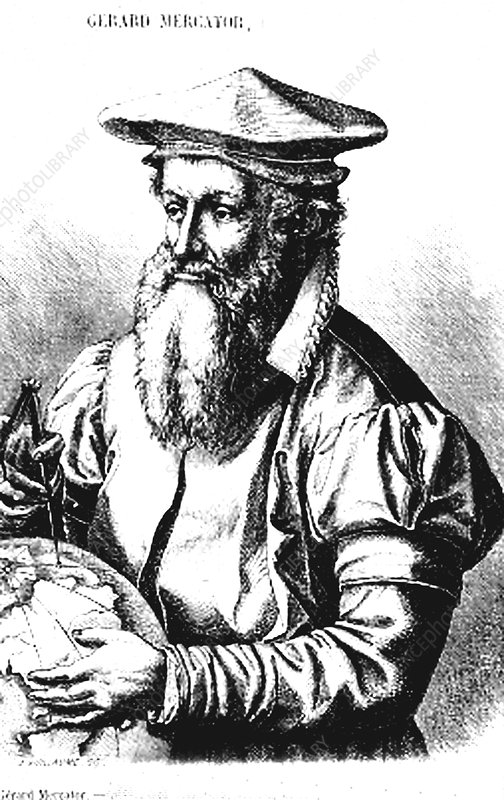 Gerardus Mercator, cartographer