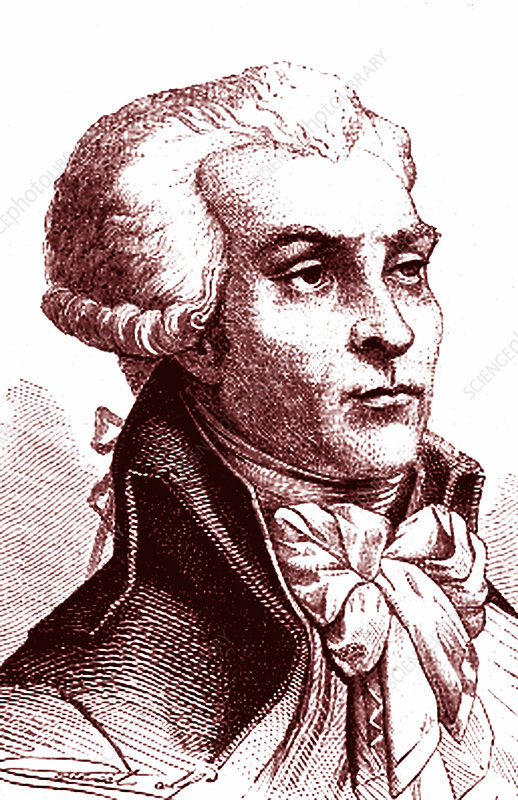 Maximilien Robespierre, French politician