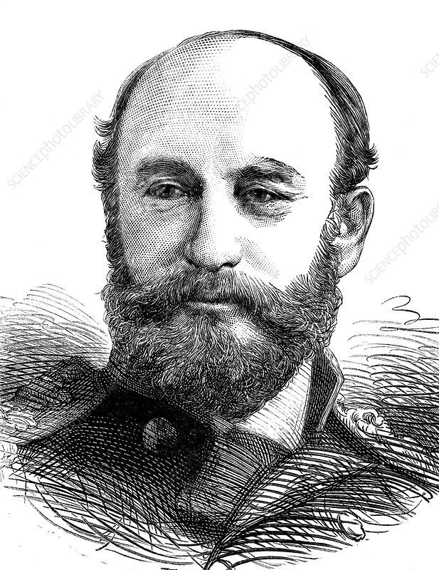 George Nares, British Arctic explorer