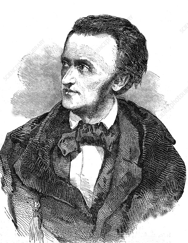 Richard Wagner, 19th Century illustration