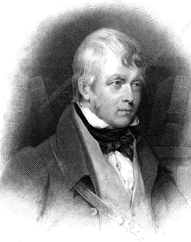 Walter Scott, Scottish novelist and poet