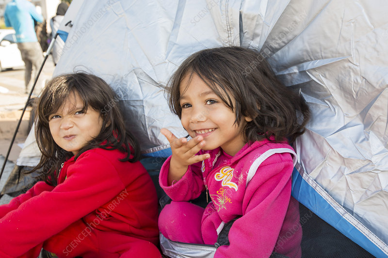 Syrian refugees, Greece