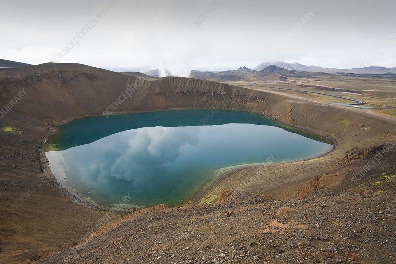 Viti Crater, Krafla mountain, Iceland