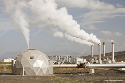 Geothermal power station, Iceland