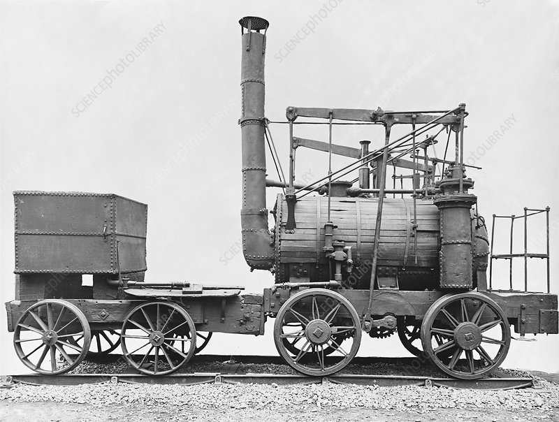 Puffing Billy locomotive, 1810s