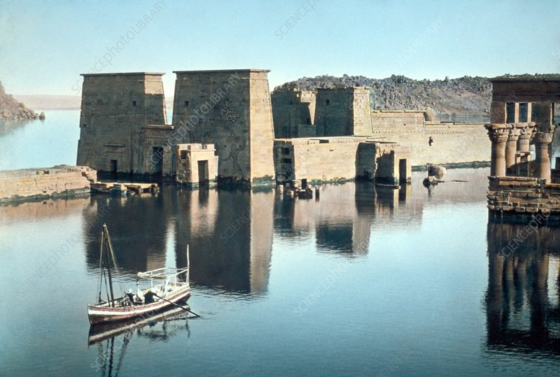 Temple of Isis at Philae, 20th century