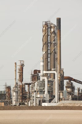 Petrochemical works