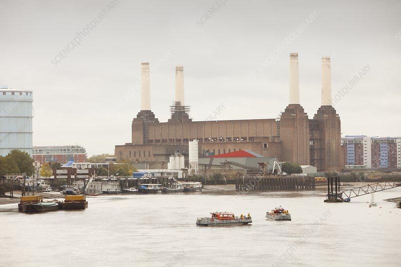 Battersea power station, London, UK - Stock Image C026