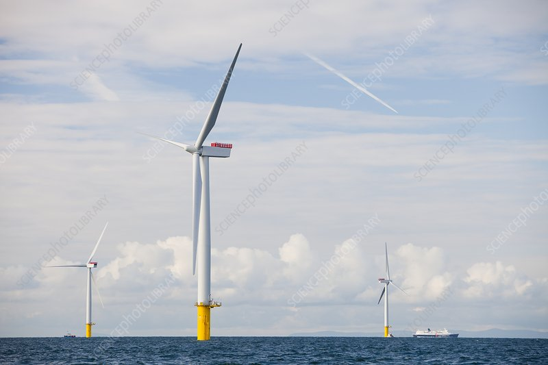 Walney Offshore Windfarm, UK