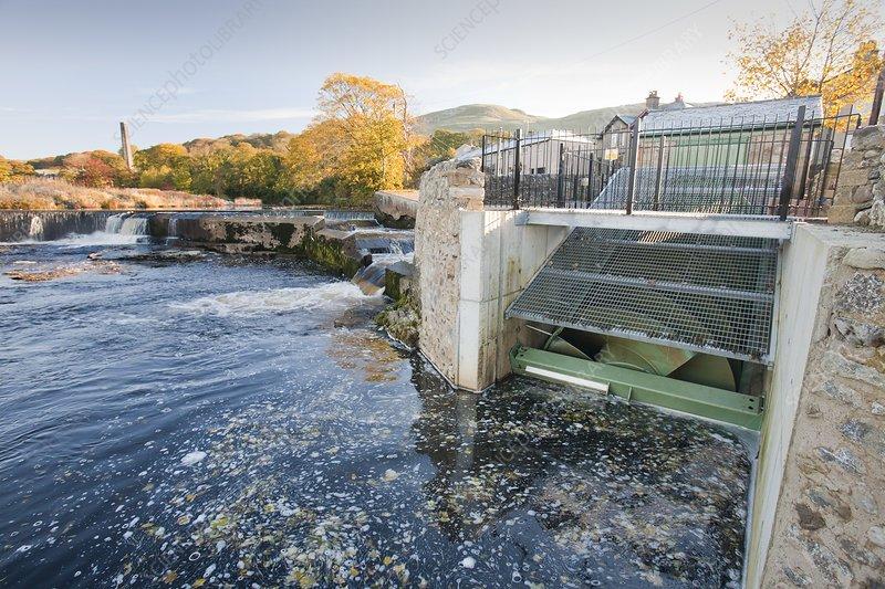 Micro hydroelectric scheme