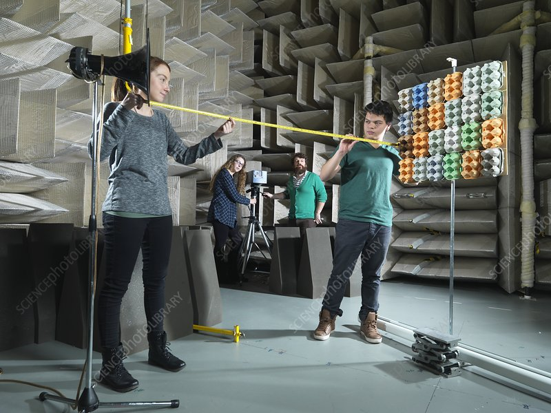 Hemi-anechoic chamber research