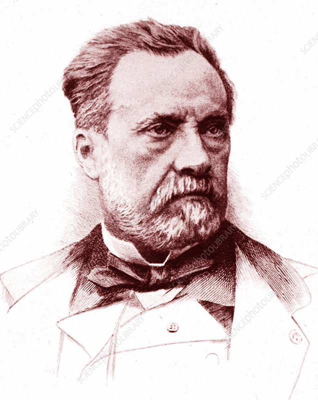 Louis Pasteur French Microbiologist Stock Image C0265930