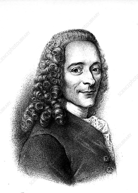 Voltaire, French author