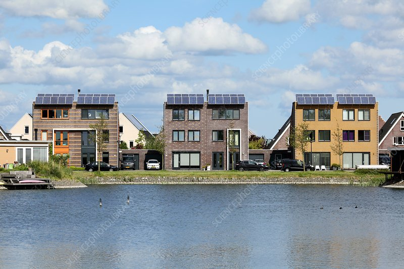 Domestic solar panels, Netherlands