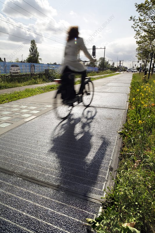 Solar cycle path, Netherlands